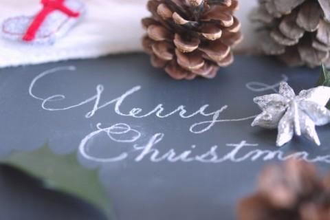 クリスマスで使う英語を筆記体で!メッセージカードが素敵になる書き方