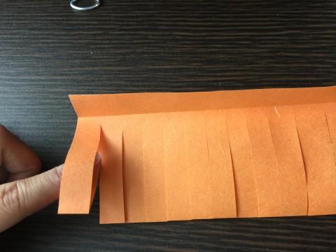 七夕飾りのちょうちんの作り方:折り紙で作る簡単な立体型3 ...