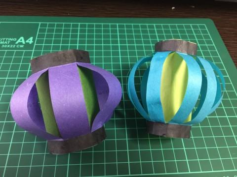 七夕飾りのちょうちんの作り方:折り紙で作る簡単な立体型3パターン!