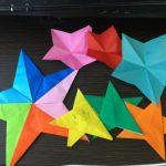 七夕飾りの星の作り方:折り紙で簡単に作る星飾り3パターン!